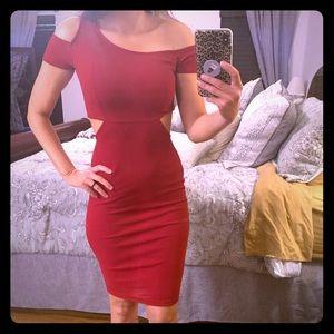 Sexy cut out dress